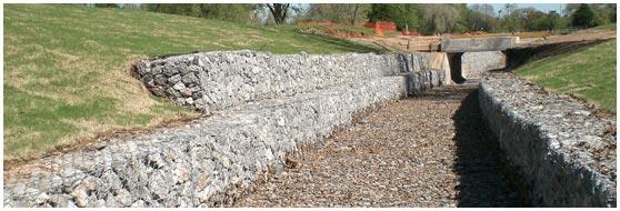 Gabion Wall Face Configuration